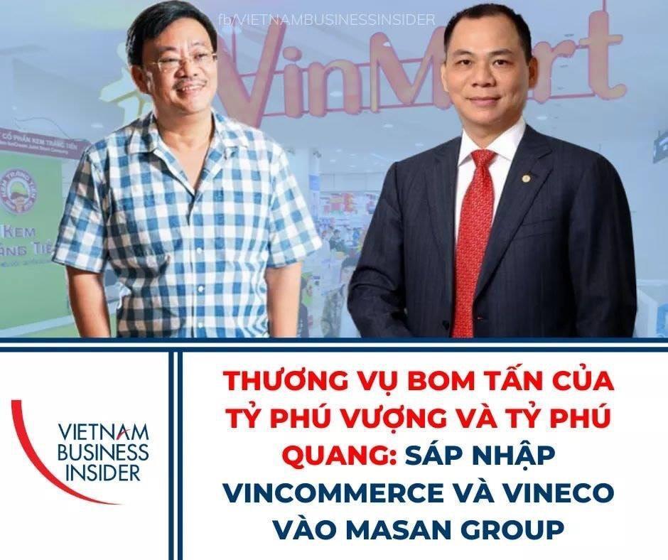 Vincommerce và VinEco  sáp nhập vào Masan Group