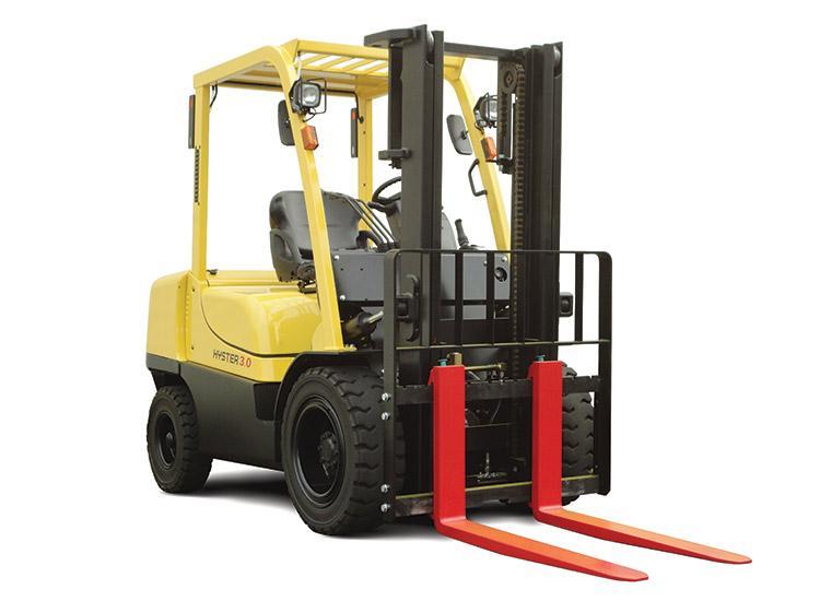 Xe Nâng Fork Lift Chạy Diesel 10 Tấn