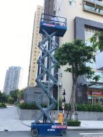 Xe Nâng Người Cắt Kéo Genie GS3246 - 12m Làm Việc