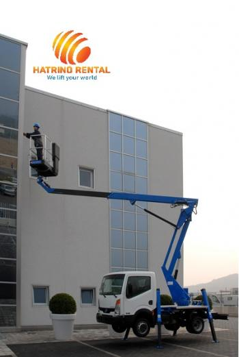 Truck-Mounted Telescopic Platforms 15m