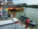 Hyva Marine 5 Ton - Gắn Thuyền Cứu Hộ