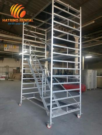 Aluminum Scaffold Mobile Tower 12m